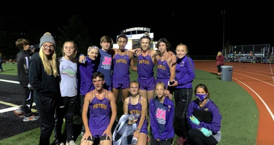 Cross Country Night Run At Farmington
