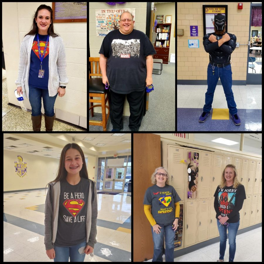 PHS+students+and+teachers+dressed+up+as+superheros+to+stand+against+drug+abuse.