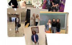 Student and teachers dressed to impress to fight against drug abuse.