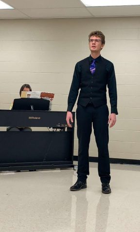 Chase Glore Auditions for All-District and All-State Choir